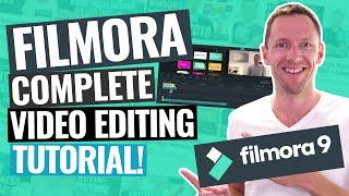 Wondershare Filmora - QUICK START Video Editing Tutorial!