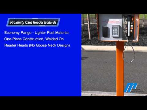 MKA Card Reader Bollards Magnetic Automation