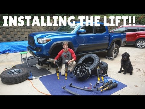 The BIGGEST MOD For My Tacoma BEGINS!!