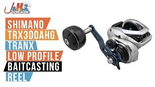 Shimano Tranx 300 TRX300AHG Low Profile Baitcasting Reel | J&H Tackle