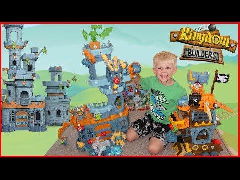 Building a Kingdom TALLER than ME!!