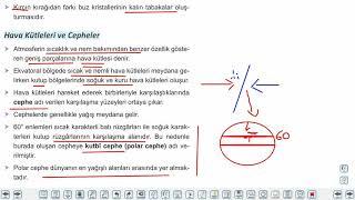 Eğitim Vadisi 9.Sınıf Coğrafya 13.Föy İklim Elemanlarından Nem ve Yağış 2 Konu Anlatım Videoları