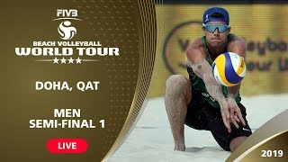 Doha 4-Star 2019 - Men Semi-Final 1 - Beach Volleyball World Tour