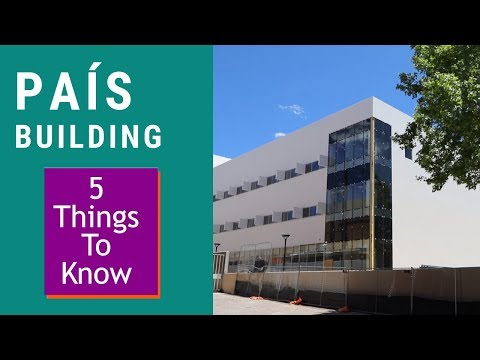 5 Things to Know: UNM PAIS building