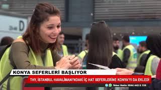 THY, İstanbul Havalimanı'ndaki iç hat seferlerine Konya'yı da ekledi