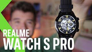 Realme Watch S Pro, análisis: Un Smartwatch básico que quiere competir con el Apple Watch