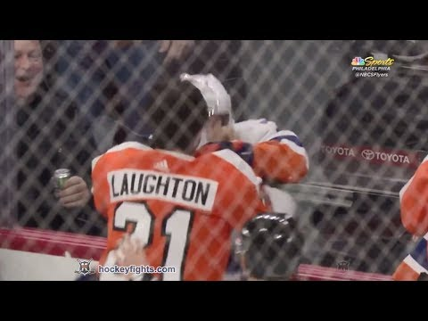 Scott Laughton vs. Jordan Eberle