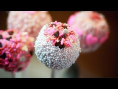 Valentine's Day Cake Pops – Ciasteczkowe Lizaczki Walentynkowe –  Recipe #78