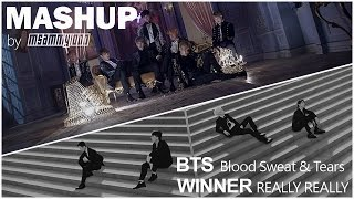 BTS x WINNER - Blood Sweat & Tears / REALLY REALLY [MASHUP]