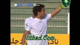 لمسات عمرو وردة فى مباراة دجلة موسم 2014-2015