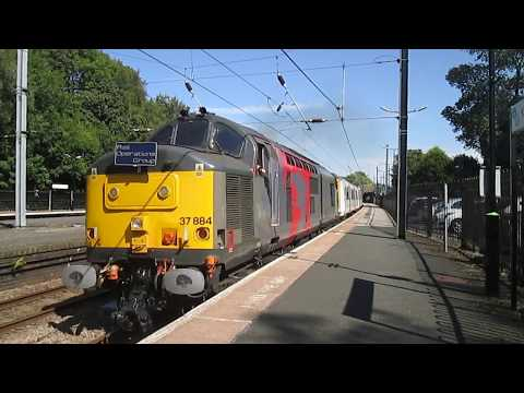 Freight, passenger and stock moves around Birmingham 25th Au…
