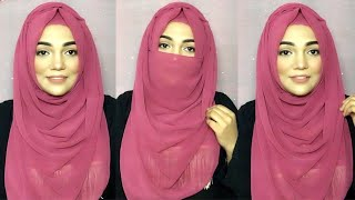 Hijab Tutorial Without Inner Cap With Chiffon Hijab|| Summer Comfy Hijab Style|| Mutahhara♥️