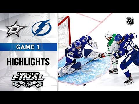 NHL Highlights | Stanley Cup Final, Gm1 Dallas Stars @ Tampa Bay Lightning – Sept. 19, 2020