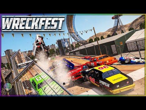 THE LEGENDS ARE BACK! | Wreckfest