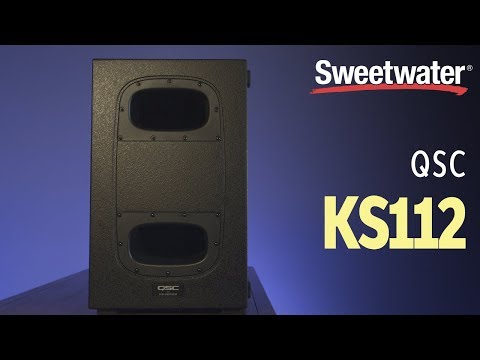 QSC KS112 Powered 12″ Subwoofer Review