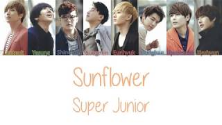 Super Junior Sunflower Lyrics
