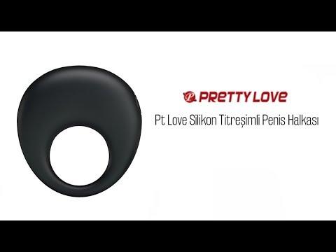 Pt Love Silikon Titreşimli Penis Halkası