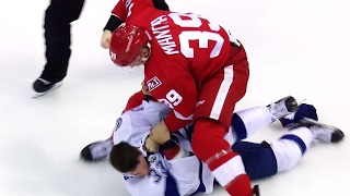 Mantha lands huge punch after taking down McKegg