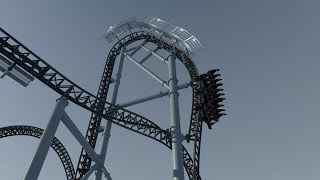 Peregrine POV - Gerstlauer Dive Coaster - Nolimits Coaster 2