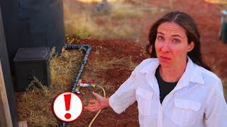 BURST PIPES! We Could Have Lost It ALL | Fixing Frozen Water Pipes | OFF-GRID Water Storage