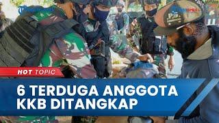 6 Terduga Anggota KKB Papua Ditangkap TNI Dalam Perjalanan Pulang dari HUT OPM di Papua Nugini