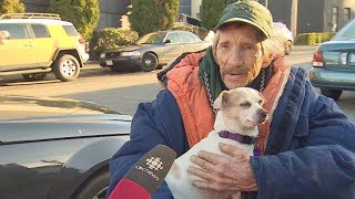 Dog missing for weeks reunited with owner