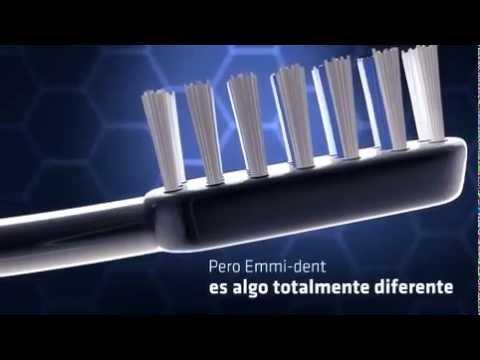 Video que muestra cómo funciona el cepillo dental con ultrasonido de Emmi-dent