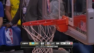 """Craziest """"Crooked Rim"""" Moments in Basketball"""