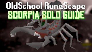 OldSchool Runescape - Scorpia: Detailed Solo guide (Mechanics, Gear Setups, Escapes  More)