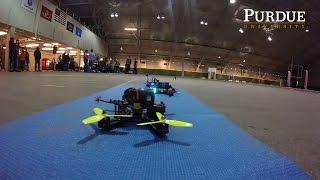 Purdue Hosts First Ever Intercollegiate Drone Races