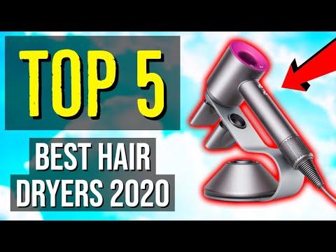 ✅ TOP 5: Best Hair Dryer 2020