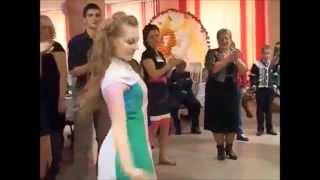 Bот как надо танцевать на русскую свадьбу! 2015