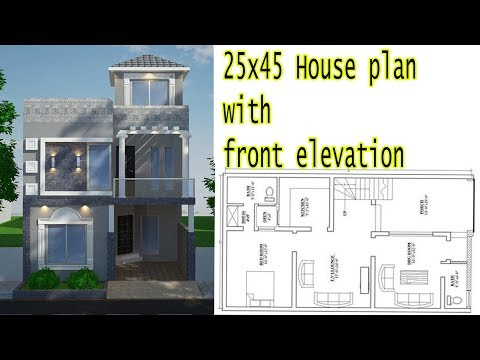 25x45 House Plan With Front Elevation 2018 Mp3