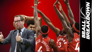 The hottest team in the NBA is the Toronto Raptors and their 15 game winning streak has seen a lot of great coaching and highlights from players like Kyle Lowry, Pascal Siakam, and Terence Davis. Coach Nick dives into the footage to dissect what has made them unbeatable the past month. Special thanks to sponsor SeatGeek. Click HERE: http://bit.ly/2m5YsFo and use code BBALL to save $20 off your first purchase!  SUBSCRIBE HERE FOR MORE: http://bit.ly/BBallSub MUSIC: Fighting For Freedom by Anno Domini ABOUT BBALLBREAKDOWN BBallBreakdown is devoted to deep-dive analysis of NBA basketball gameplay. If you're a coach or a player, check out the MONTHLY MEMBERSHIP - filled with an ever growing library of on court demos designed to help you improve your play and your coaching! Giving fans a taste of a pro coach's film session, host Coach Nick breaks down fundamentals, play calling, offense, defense, shooting form, officiating, and everything else basketball.  In addition, see exclusive interviews with NBA players and coaches, from active super stars to retired legends.