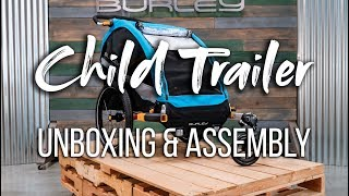 Child Trailer Unboxing & Assembly