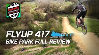 Flyup 417 Bike Park - MTB Trails at their best with FPV Drone