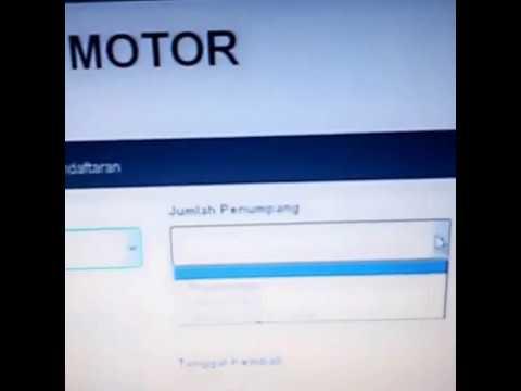 Video CARA DAFTAR MUDIK GRATIS VIA KERETA(MOTOR)