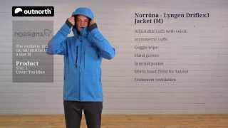 Kjøp Norrøna lyngen driflex3 Jacket (M) fra Outnorth