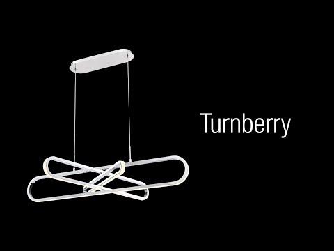 Video for Turnberry Chrome One-Light LED Chandelier