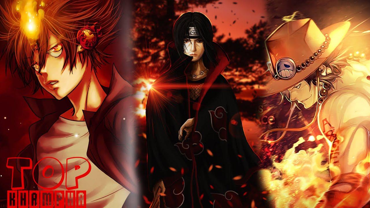 Top 10 Nhân vật sử dụng lửa ấn tượng nhất anime