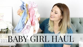 Baby Girl Clothing Haul: H&M, Old Navy, Carters | Kendra Atkins