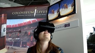 Colosseum Virtual Reality Exhibit at the Canadian War Museum