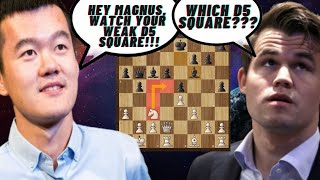 A Whole New Hole! - Ding Liren Vs Magnus Carlsen - Magnus Carlsen Chess Tour Kiva Finals - GAME 1