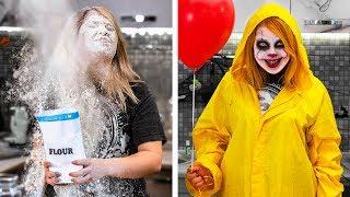 13 Kolay ve Havalı Kendin Yap Tarzı Cadılar Bayramı Dekor ve Kostüm Fikri