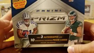 2016 Panini Prizm Football Hobby Box