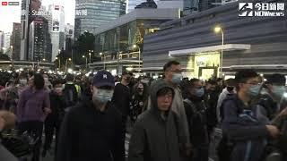 【直播/香港「國際人權日」遊行 現場人潮擠爆】