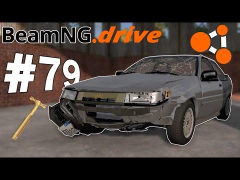 BeamNG.drive (#79) - NAPRAWY BLACHARSKIE WIRTUOZA LUKSORA cz.4