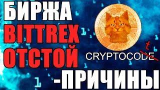 Bittrex - Битрекс: описание, история, объем торгов, новости