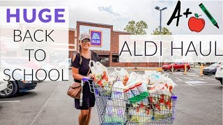 WEEKLY MEAL PLAN AND GROCERY HAUL | HUGE ALDI HAUL | Cook Clean And Repeat