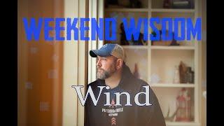 How? Wind Estimation | Weekend Wisdom